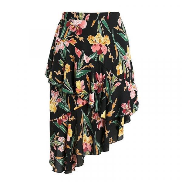 """Идеи для шитья летних юбок. Юбки с асимметрией, юбки с запахом, юбки в """"испанском"""" стиле."""