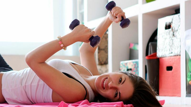 Домашние тренировки для девушек для похудения