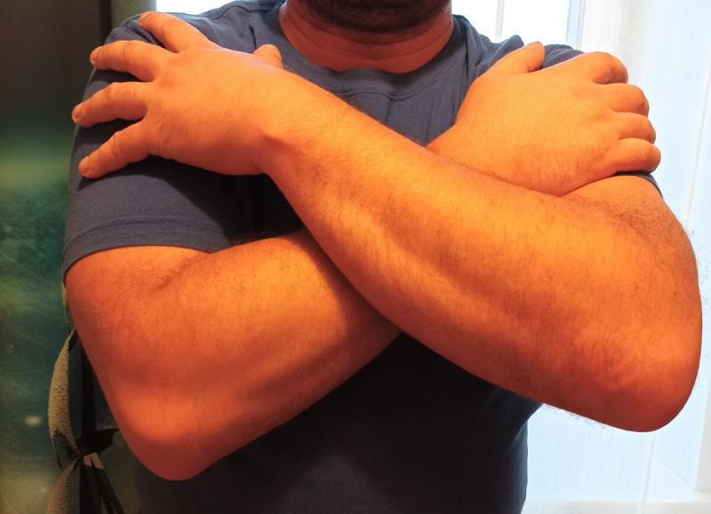 Гимнастика при травме плечевого сустава.