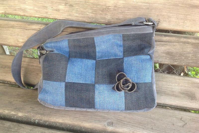Идеальные джинсовые квадраты при небольшом швейном опыте