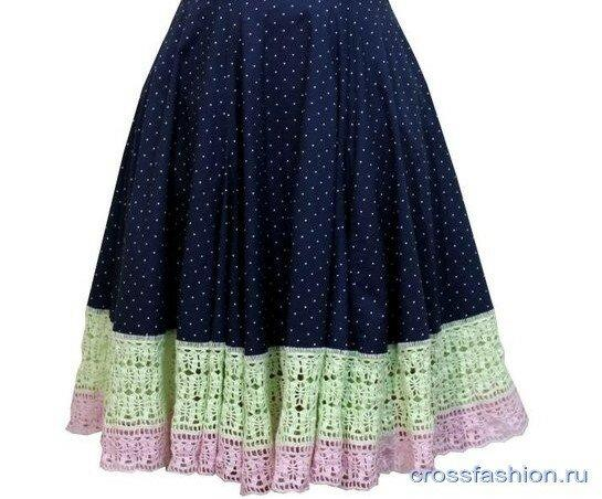 Как я удлиняю свои юбки плюс интересные идеи рукодельниц