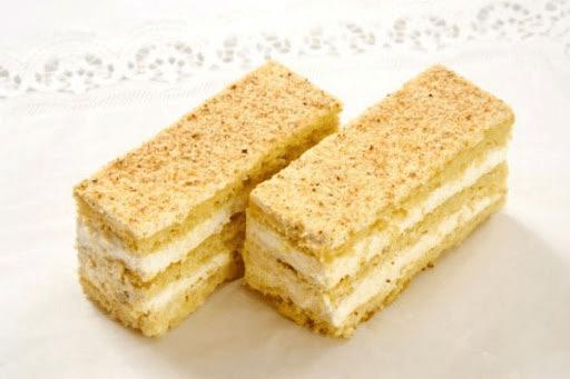 Лимонные пирожные, которые по 15 копеек))