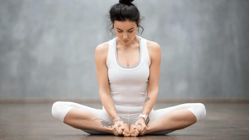 Поза бабочки в йоге – как научиться делать?