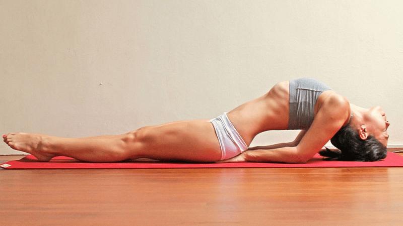 Поза рыбы в йоге – подготовка и выполнение