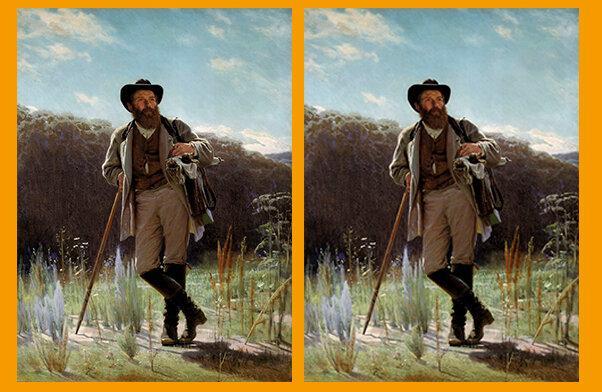 Сможете найти всего лишь одно отличие на двух картинках? Тест на внимательность.