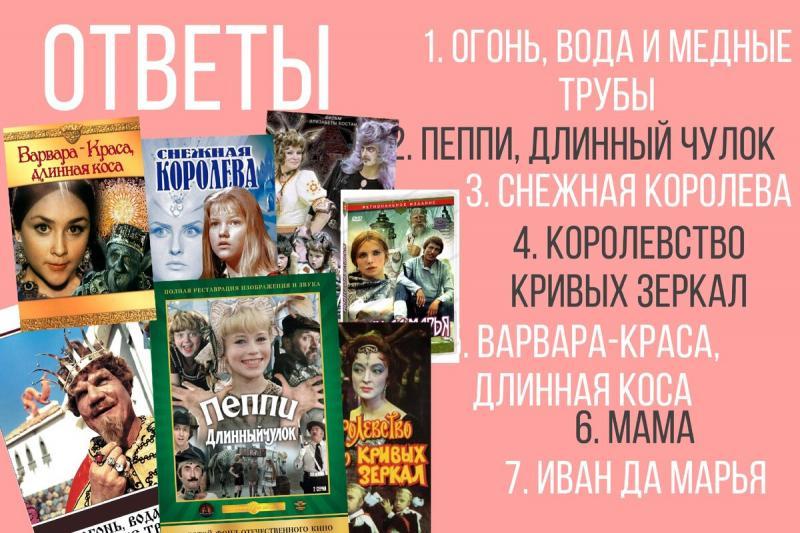ТЕСТ: Помните советские фильмы-сказки?