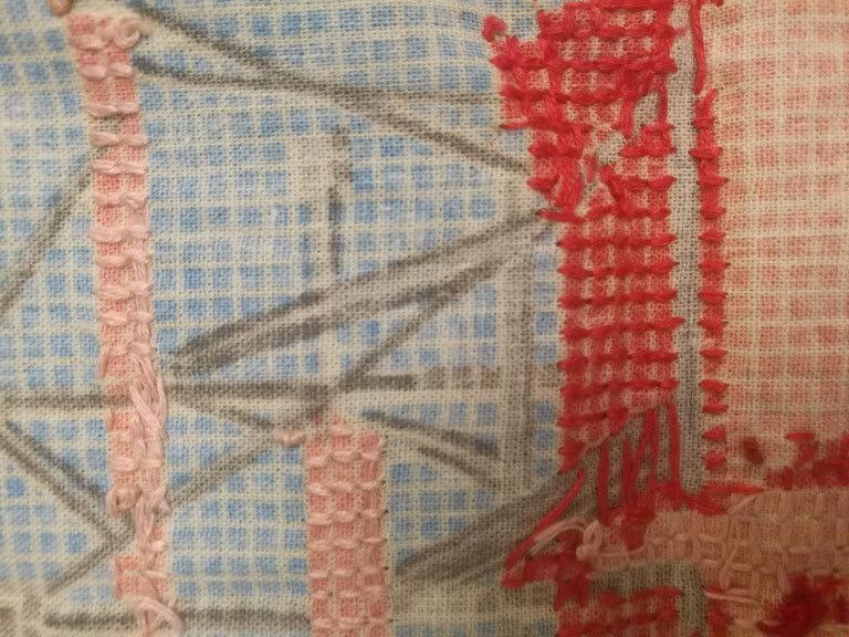 2 мои попытки научиться вышивать крестиком. Надеюсь, увидев результат, вы улыбнетесь
