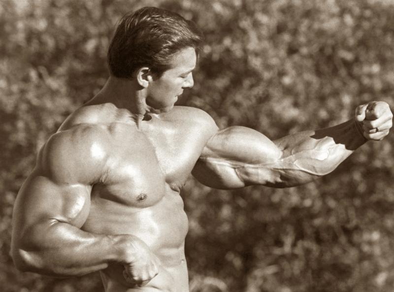 3 упражнения, которыми Ларри Скотт накачал бицепс в 54 см