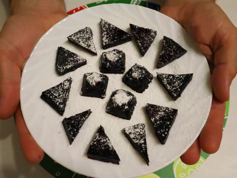 Беру горсть любых ягод и делаю домашний мармелад, делюсь рецептом