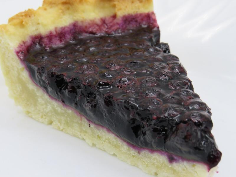 Как я пекла черничный пирог
