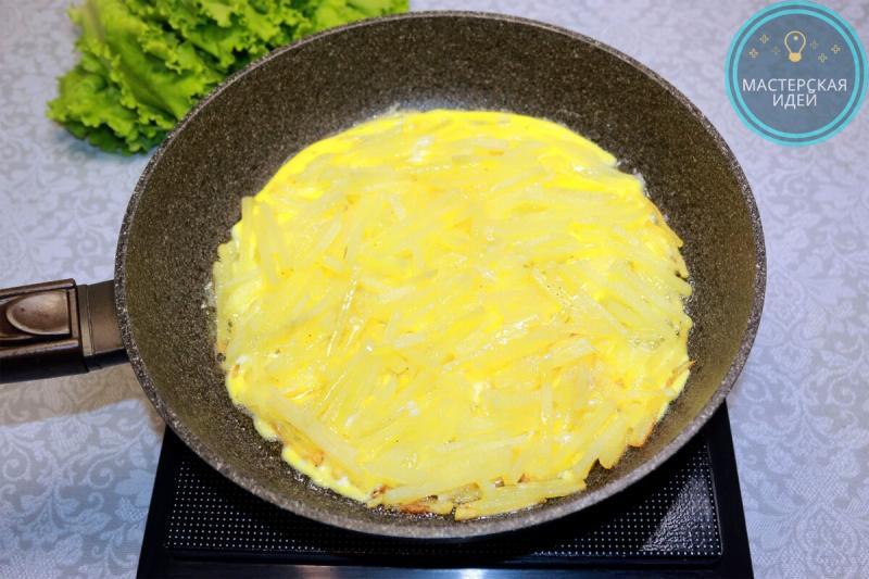Такая пицца из картошки будет повкуснее обычной: без муки, без духовки и всего за 30 минут (делюсь простым рецептом)
