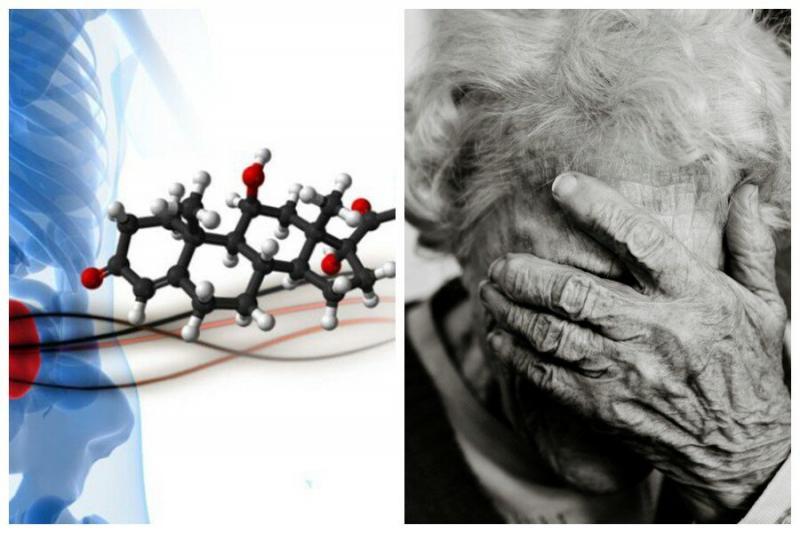 Ученые выяснили, что низкий уровень гормона стресса способствует старению