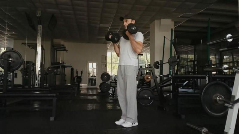 Упражнения с гантелями для домашних тренировок + комплекс