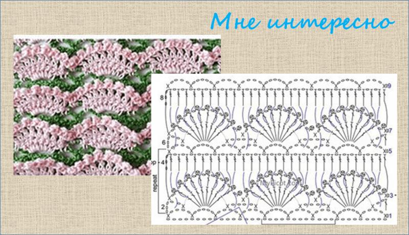№ 111 - 130 схемы и образцы для вязания крючком - объемные узоры - в копилку мастерицы