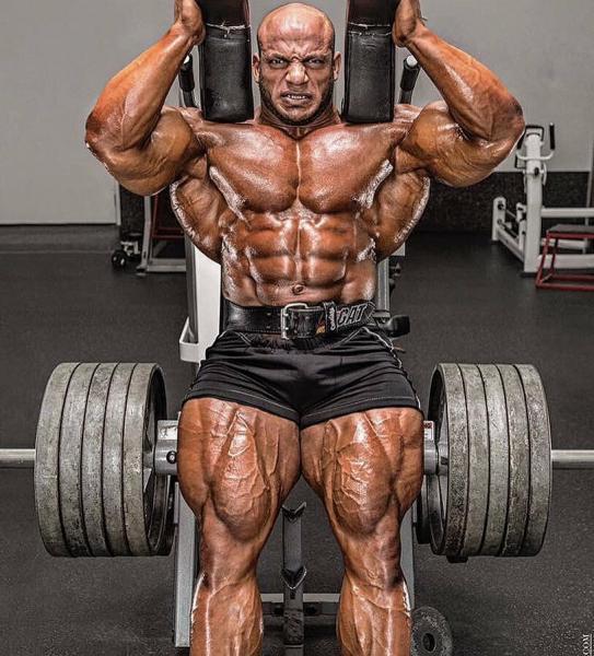 Биг Рами. Самый крупный выступающий бодибилдер современности. 160 кг мышечной массы