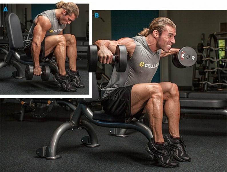 Лучшие упражнения #3. Разведения с гантелями. Сделай плечи огромными
