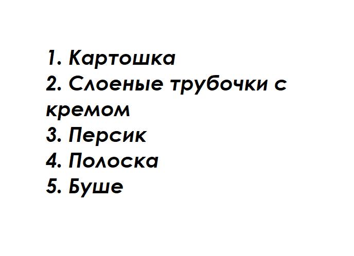 Тест с фото! Отгадаете ли вы название пирожных из СССР?