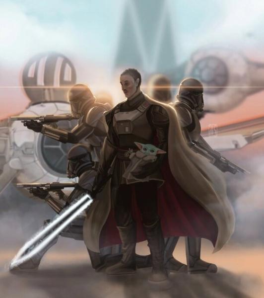 """Звезда """"Мандалорца"""" сказал, что второй сезон раскроет историю Тёмного меча"""