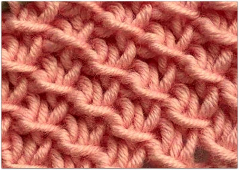 7 простых и эффектных «плетёных» узоров спицами
