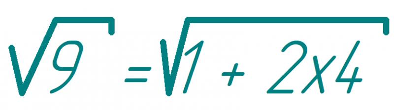 Безумная математика. Рамануджановский бесконечный корень.