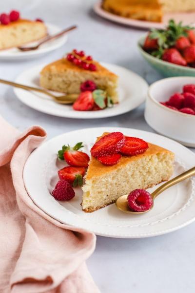 Французский йогуртовый торт за 30 минут (делаю, когда бисквит уже надоел)