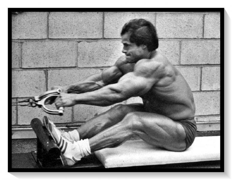 Франко Коломбо о своём любимом упражнении: «Я никогда не подтягивался с отягощением!»