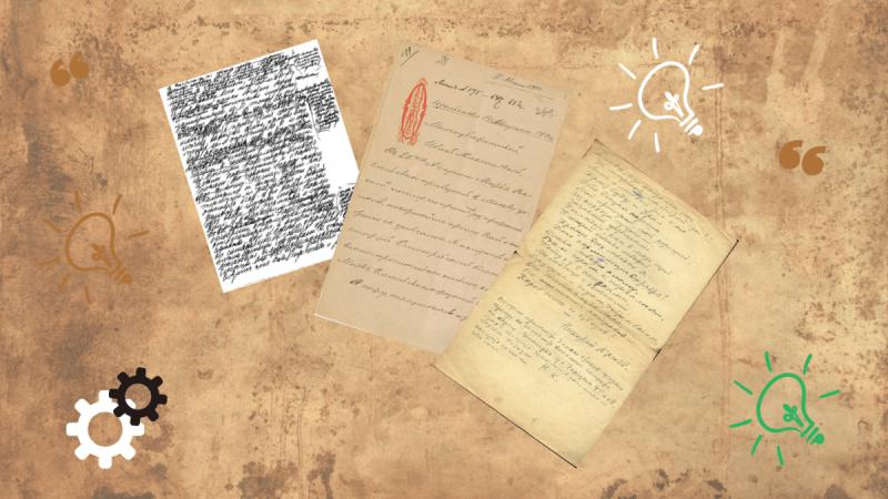Литературный тест: узнаете автора по его почерку?