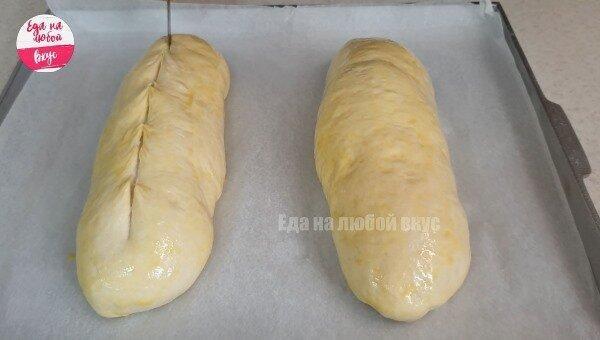 Мягкий белый хлеб в духовке