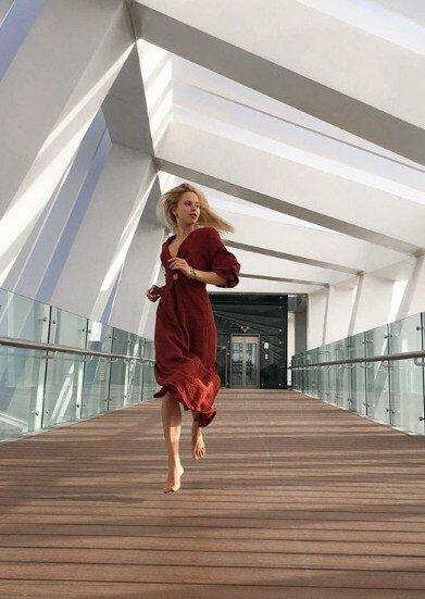 Молодая фитнес-модель Анастасия Золотая уже добилась большого успеха