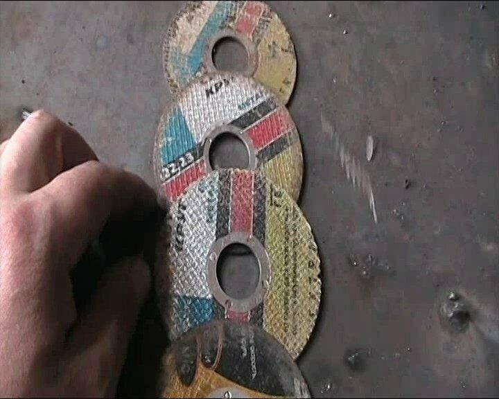Огарки электродов и сточенные диски. 5 способов, как их применить с пользой в работе, а не выкинуть.