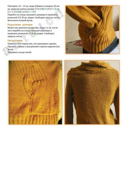 Просто идеи для вязания в особенных деталях или крое — модели спицами