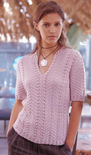 Пуловеры с коротким рукавом