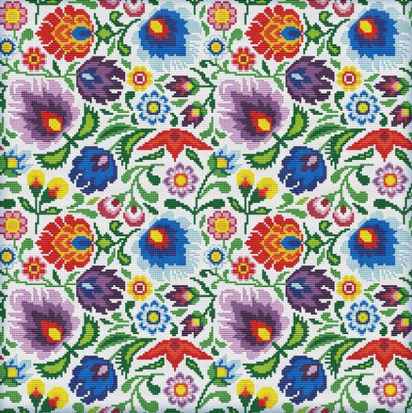 Схемы вышивки узоров и орнаментов