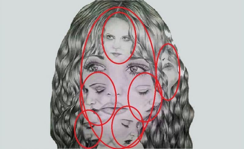 Тест: Количество лиц, которое вы увидите на картинке, определит ваш психологический возраст
