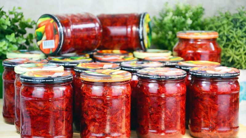 Вкусные и оригинальные заправки на зиму для борща