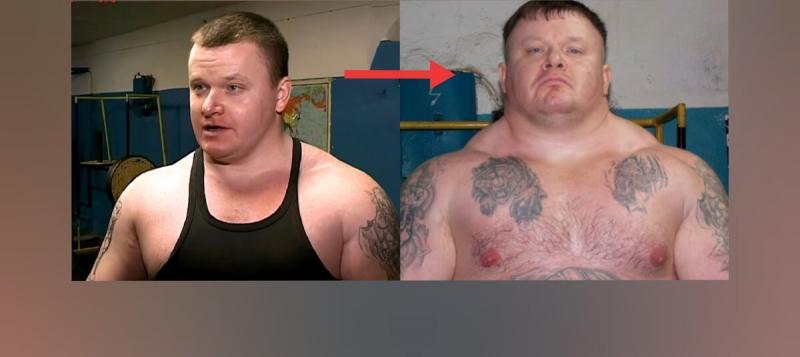 Вот, как стероиды изменили нормального здорового мужика. Хотите также?