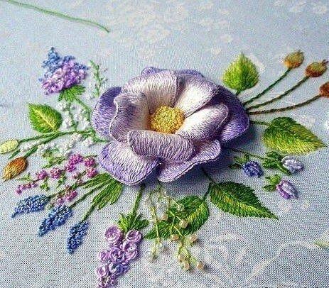 Все в сад: цветущая вышивка от мастерицы Розы Андреевой
