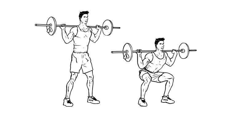 6 главных упражнений для мужчин в тренажерном зале