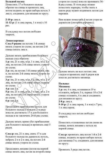 Идеи для вязания варежек спицами — варианты разных моделей