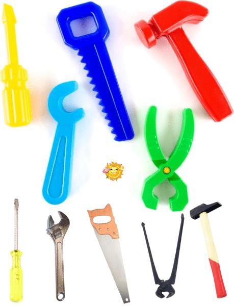 Интересные развивающие игры помогут вашему ребенку изучить инструменты