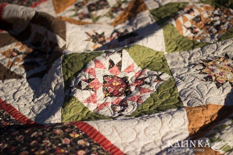 Как из одной ткани целое одеяло родилось