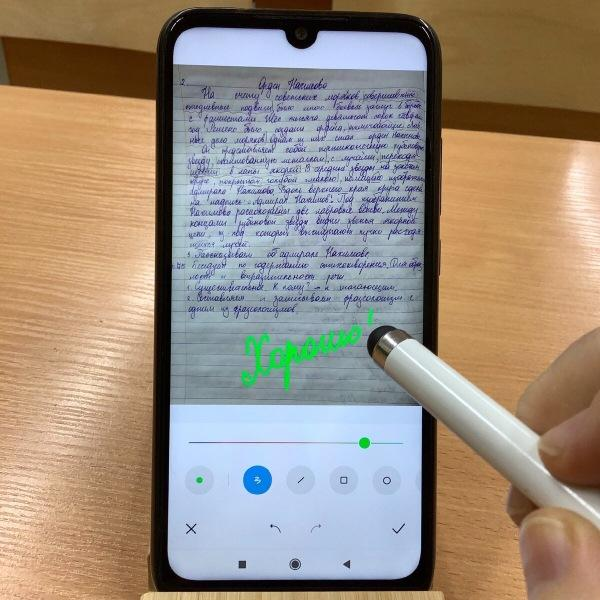 Как учителю на дистанте ежедневно проверять до 80 работ, используя телефон и стилус за 250 рублей