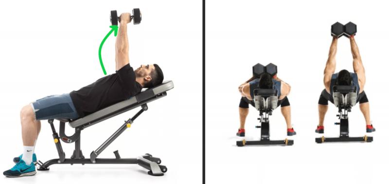 Какие упражнения стоит попробовать, если отстает верхняя область грудных?