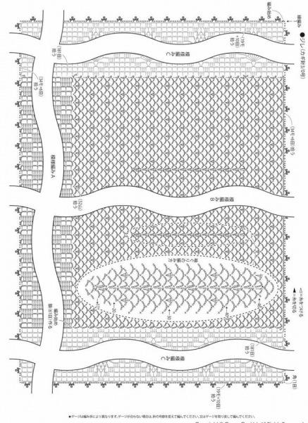 Кардиганы, жилеты и кофточки крючком (со схемами)