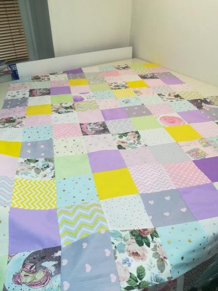 Лоскутное одеяло снова в моде, научилась их шить за 4 часа вместо нескольких дней
