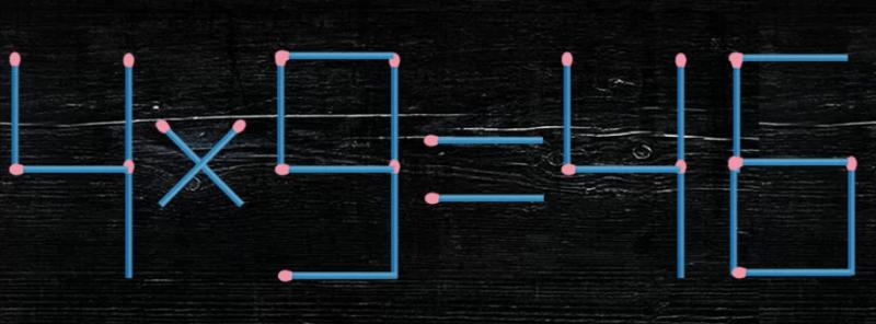 Новая спичечная головоломка. Только избранные решают эти уравнения за 40 секунд