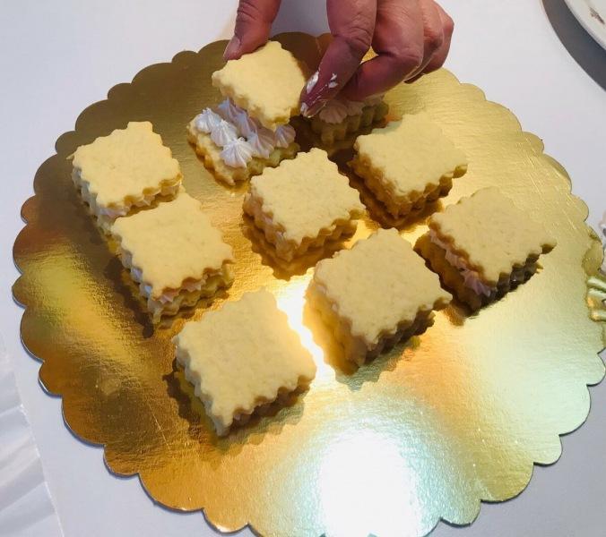 Пирожные, которые я успеваю сделать перед самым приходом гостей