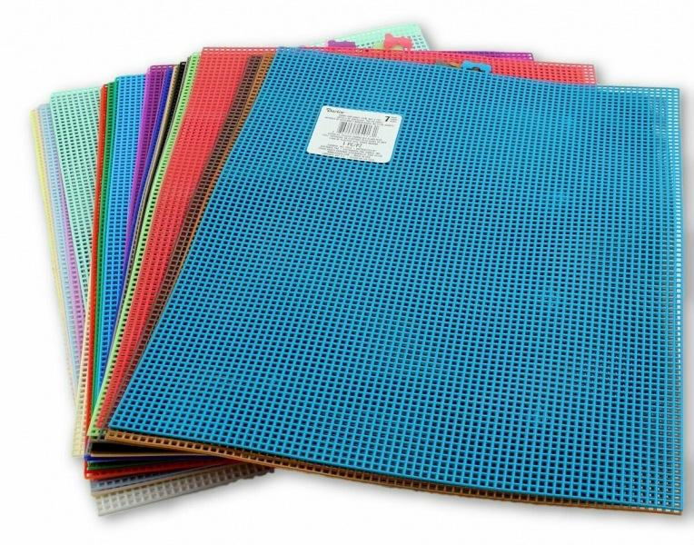 Словарь вышивальщицы. Пластиковая канва