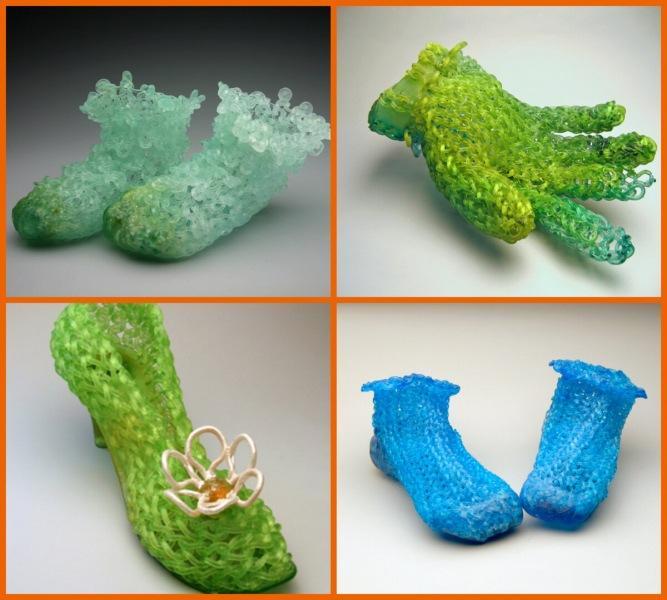 Стеклянные носки и другие «вязаные» вещи