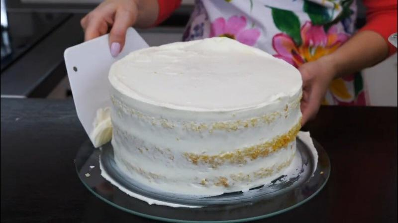 """Торт """"Зимняя сказка"""" очень вкусный и нежный"""